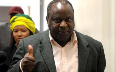 How do you make positive decisions in a recession Mr Mboweni?